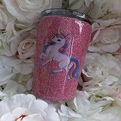 Luxury Tumblers 12oz Full glitter