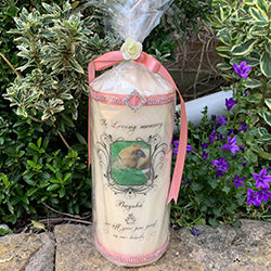 Deluxe Pet memorial large pillar candle