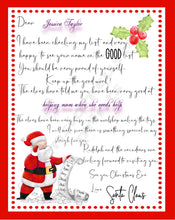 Load image into Gallery viewer, Letter from Santa
