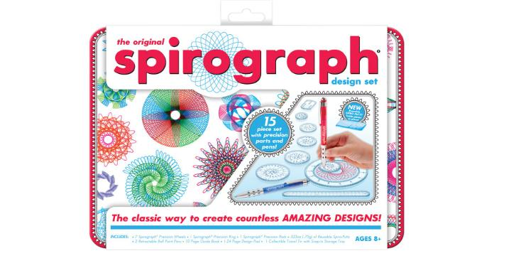 Spirograph Design Tin Set – Only $11.35!
