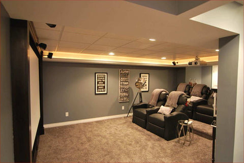 Stunning Small Finished Basement