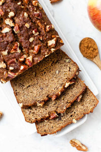 This is the healthiest Apple Banana Bread recipe ever
