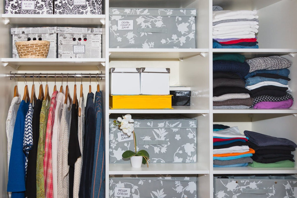 Whether your apartment boasts a walk-in closet or you're stuck with limited storage space, proper organization is an essential component to happy home life