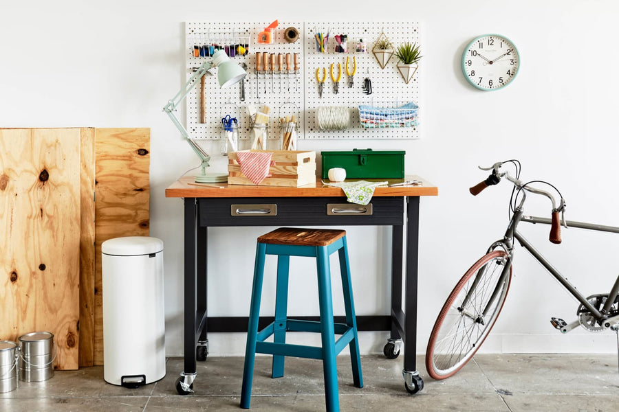 SPONSORED POST: Organize Your Tools in One Weekend with This DIY Work Station