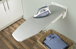 When space becomes a luxury that you cannot afford, a wall mounted ironing board can be of great help