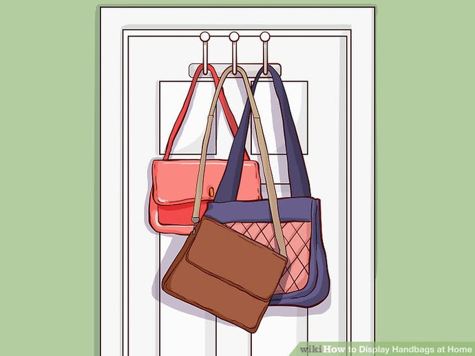 How to Display Handbags at Home