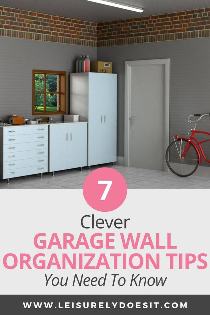 Garage wall organization ideas are great when you need space-saving storage solutions