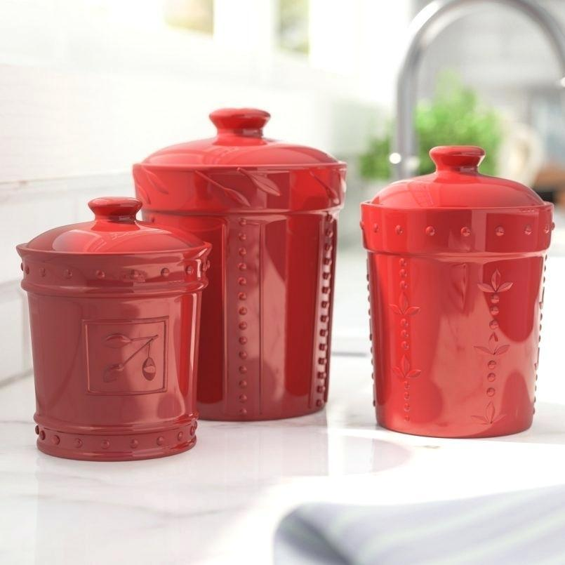 Fascinating Large Kitchen Canisters