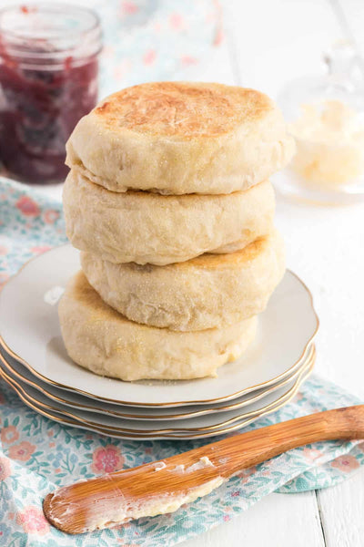This no-knead, one-bowl method for making Homemade English Muffins is surprisingly easy and yields a fabulous result