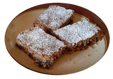 This recipe for date and nut bars makes a moreish high fibre treat which can be easily taken with you when travelling, hiking or camping