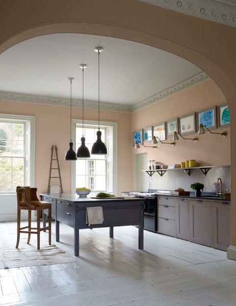 Steal This Look: A Plaster Pink Kitchen in Bath, England
