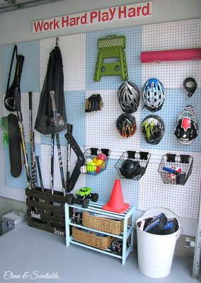 Get your garage cleaned and organized with these awesome garage organization ideas