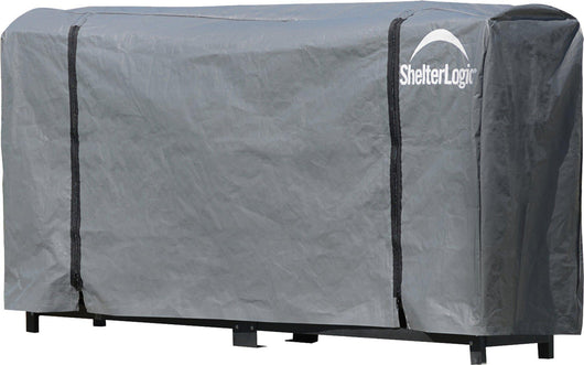 ShelterLogic Firewood Rack-in-a-Box Universal Full Length Cover for Firewood