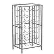 Annecy Silver Wine Rack