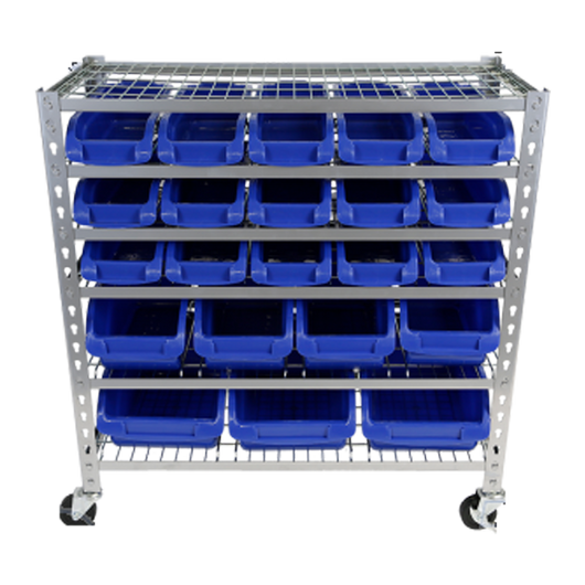 Tradequip 22 Parts Storage Rack 6053