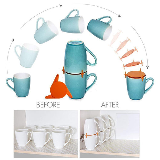 Kitchen Storage For Tea Cups And Coffee Mugs