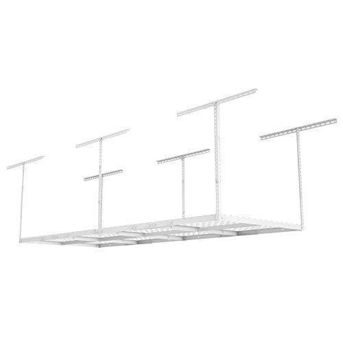 Fleximounts 2-piece 3x8 ft Overhead Garage Storage Rack Set Ceiling Storage Racks Adjustable Heavy Duty, 96