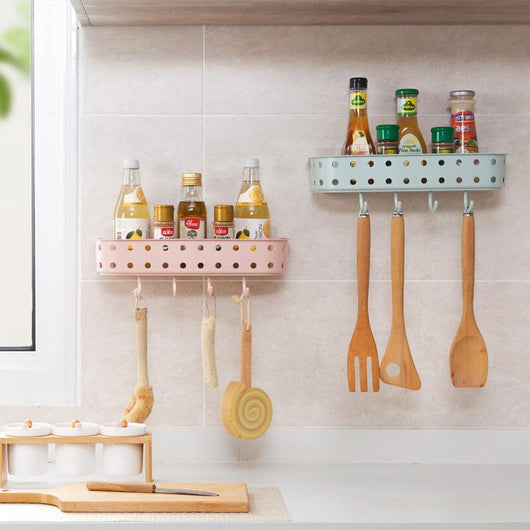Wall-Mounted Storage Rack