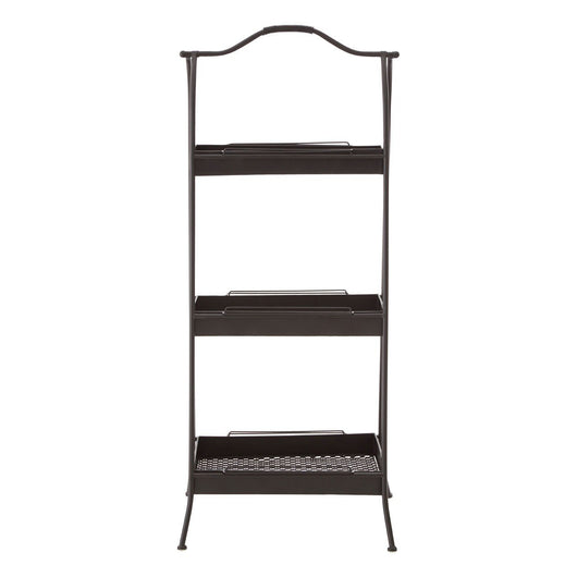 Lexa Storage Rack Black