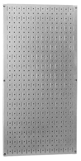 Budget friendly wall control 30 gp 3216 gv 32 x 16 galvanized metal pegboard tool board panel