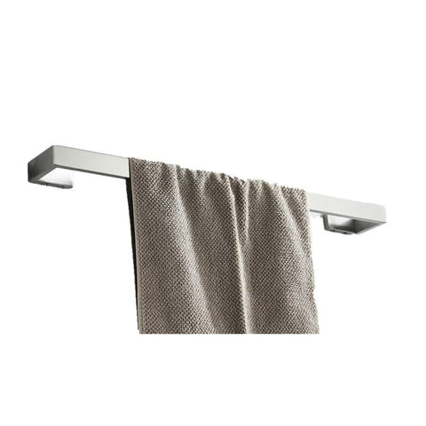 RGHS 4 PCS Brushed Nickel Bathroom Hardware Set (Towel Bar Toilet Paper Holder Towel Hook Towel Ring), Wall Mount Complete Bathroom Accessories Set