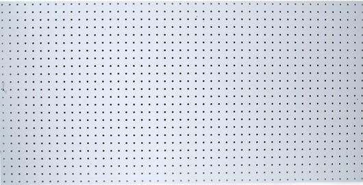Latest triton products db 96 duraboard white polypropylene pegboard 48 inch w by 96 inch h by 1 4 inch d with 9 32 inch hole size and 1 inch oc hole spacing
