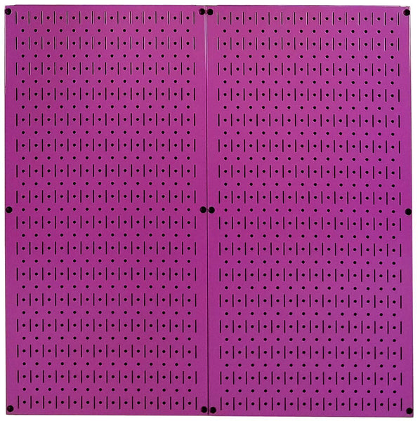 The best wall control purple pegboard metal pegboard pack of purple peg boards two 32 inch tall x 16 inch wide colorful purple pegboard wall storage panels