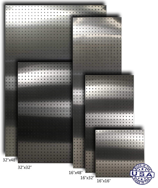Top stainless supply stainless steel pegboard various sizes available see drop down menu selected size 32x48 304 2 pack