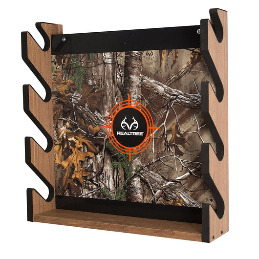 RealTree Camo 4 Gun Wall Storage Rack