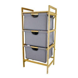 Butlers 3 Drawer Bamboo Trolley