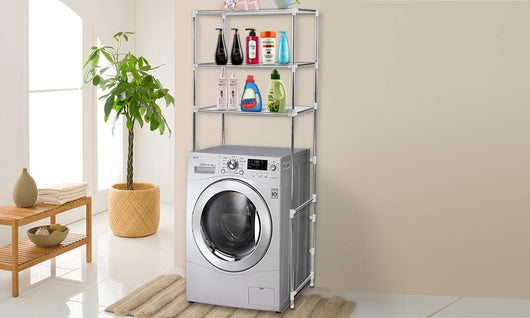 3 Tier Over Laundry Washing Machine Storage Rack