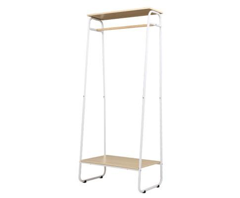 Closet Storage Rack Clothes Hanger White