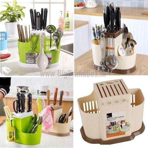 Multifunction Spoon Storage Rack