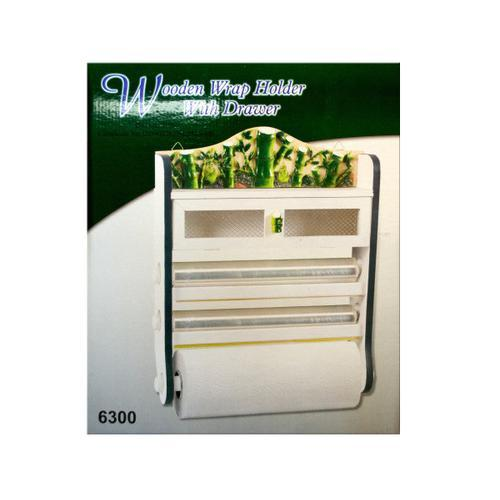 Bamboo 4-in-1 Kitchen Wall Storage Rack ( Case of 2 )