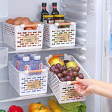 Multifunctional Portable Kitchen Refrigerator Storage Basket