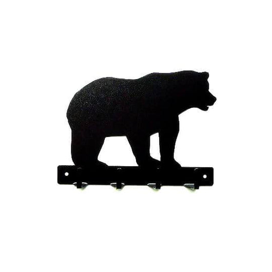 Bear Metal Art Key Rack