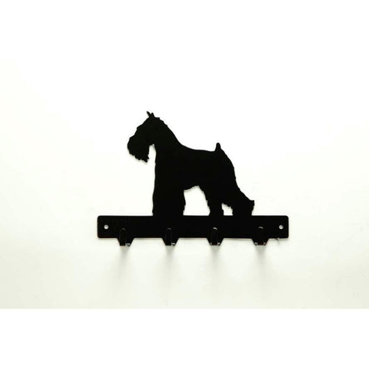 Miniature Schnauzer Leash Rack