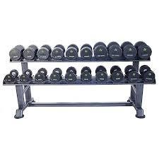 PU Dumbbell Sets with Saddle Racks