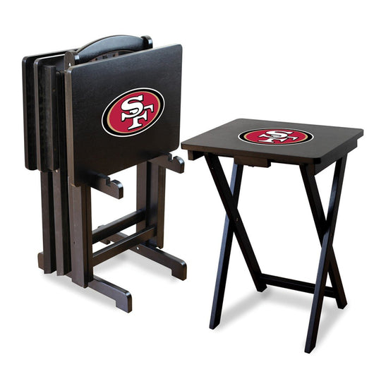 Imperial San Francisco 49ers TV Snack Tray Set