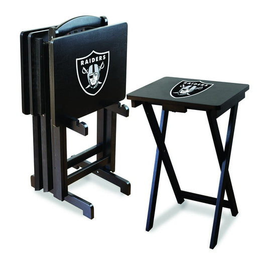 Imperial Oakland Raiders TV Snack Tray Set