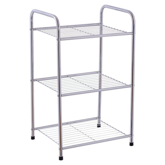 3-Tier Metal Storage Display Shelf