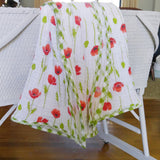 swaddle-blanket-girl-red-poppies-bassinet