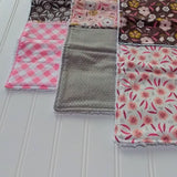 burp-cloths-modern-gray-pink-floral