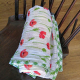 swaddle-blanket-girl-red-green-double-gauze
