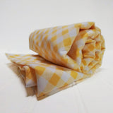 baby-receiving-blanket-yellow-gingham-white