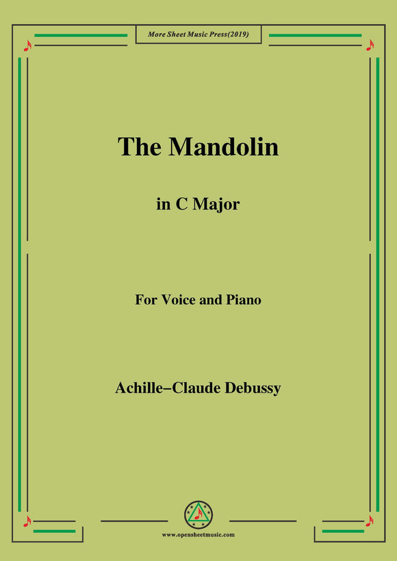 Debussy-The Mandolin