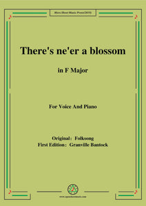 Bantock-Folksong,There's ne'er a blossom(Laulu Lapista)