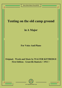 Bantock-Folksong,Tenting on the old camp ground
