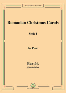 Bartók-Romanian Christmas Carols, Sz.57 Serie I,for Piano