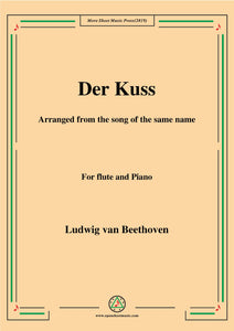 Beethoven-Der Kuss,for Flute and Piano